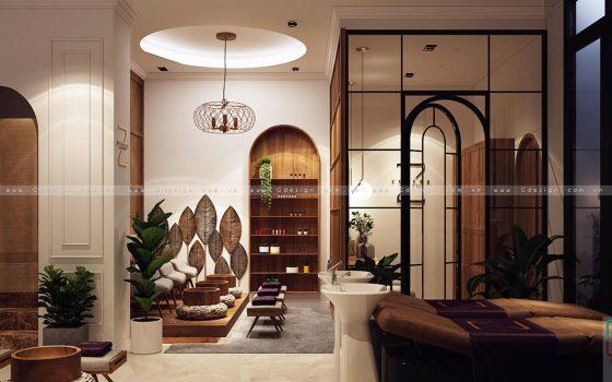 Thiết kế thi công trọn gói Zehera Beauty & Spa