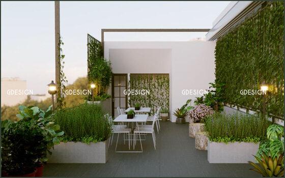 Thiết kế thi công trọn gói cafe sách minimalism Phan Rang