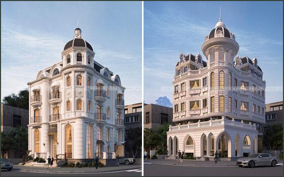 Thiết kế kiến trúc lâu đài quận 7