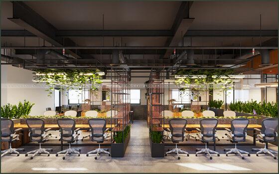 Thiết kế thi công nội thất văn phòng Coworking Space Hồ Chí Minh