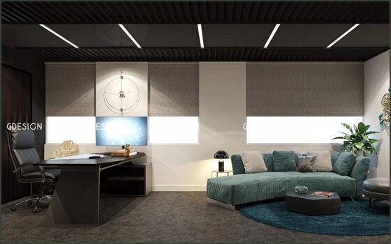 Thiết kế thi công nội thất văn phòng giám đốc Hồ Chí Minh