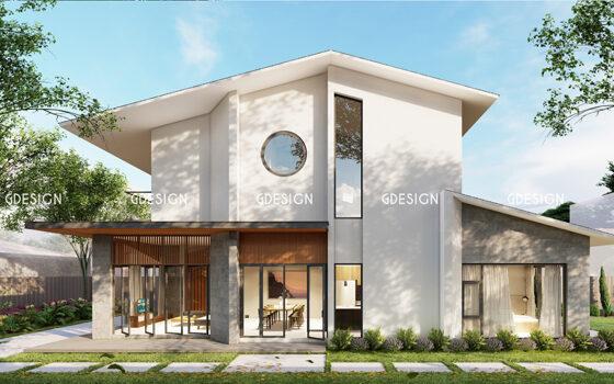 Thiết kế thi công trọn gói biệt thự Phan Rang chú Vinh