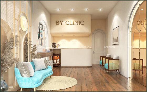 Thiết kế thi công trọn gói spa BY Clinic Quận 10