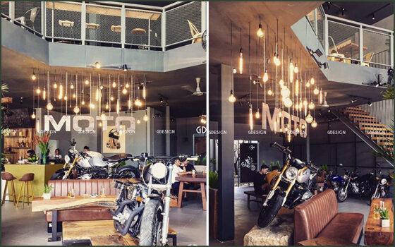 Thiết kế thi công trọn gói cafe Moto Phan Rang