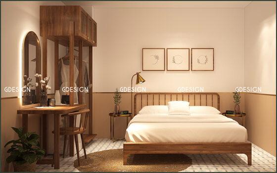 Thiết kế thi công trọn gói homestay Phanta Stay Quận 1