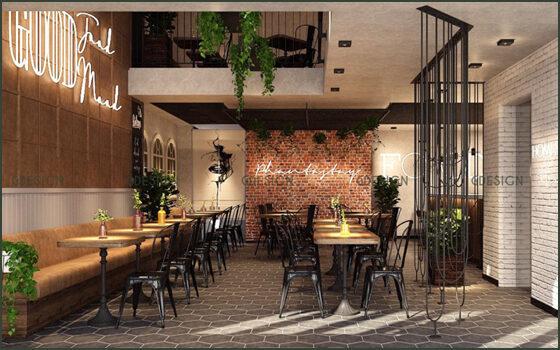Thiết kế thi công trọn gói nhà hàng Phanta Stay Quận 1