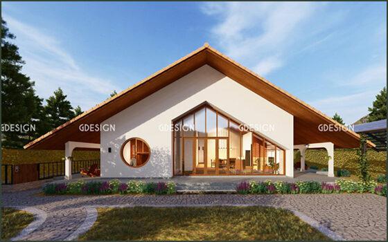 Thiết kế thi công trọn gói nhà vườn Bảo Lộc anh Long