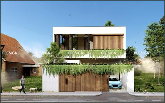 Thiết kế thi công trọn gói villa Vũng Tàu anh Tùng