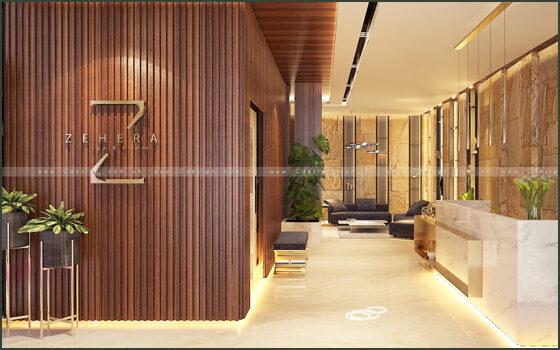 Thiết kế thi công trọn gói Zehera Beauty & Clinic