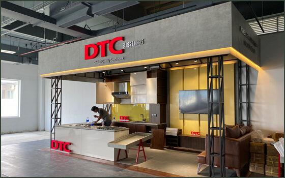 Thiết kế thi công trọn gói showroom trưng bày DTC quận 7